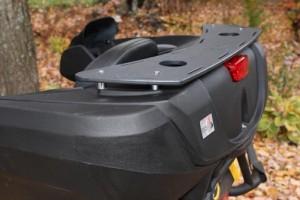 Porte-bagages pour coffre de VTT Wes Touring