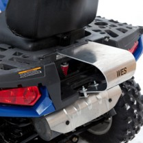 Support aluminium pour Wes Touring Polaris EPS