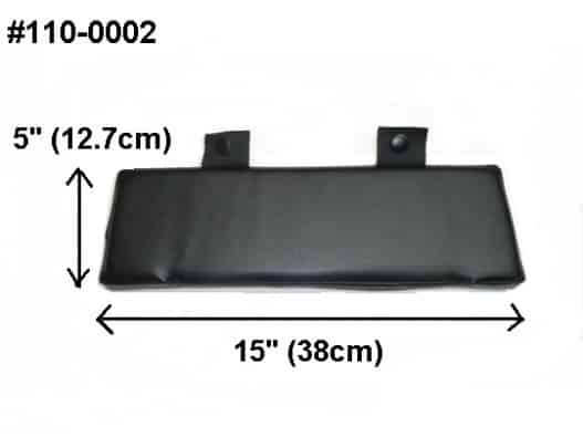 Backrest ATV rear boxes & seats