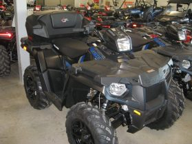 ATV Storage box Expedition on 2017 Polaris Sportsman 570