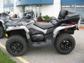 ATV storage box Epedition without backrest on 2017 Outlander Max